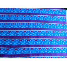 Ситец  плательный Орнамент фиолетовый