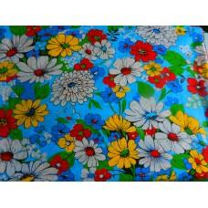 Ситец плательный Букет разноцветный